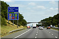 SP0072 : Services Ahead, M42 Motorway by David Dixon