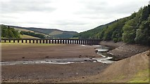 SK1789 : Pipe bridge over Ladybower Reservoir by Graham Hogg