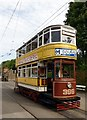 SK3454 : Tram no. 399 at Crich Tramway Village by Graham Hogg