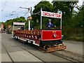 SK3454 : Tram no. 166 at Crich Tramway Village by Graham Hogg