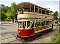 SK3454 : Tram no. 40 at Crich Tramway Village by Graham Hogg