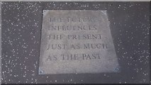 """NT1972 : Corstorphine """"The Future influences the Present as much as the Past"""" by Raymond Bell"""