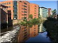 SK3587 : Reflections in the River Don by Graham Hogg