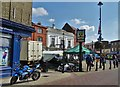 TM0458 : Stowmarket Marketplace by Neil Theasby