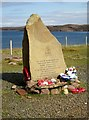 NG8192 : Memorial  stone  for  over  3000  men  lost  on  Russian  Convoys by Martin Dawes