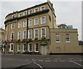 ST7564 : Isambard Lounge entrance, Railway Place, Bath by Jaggery