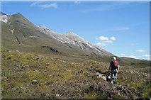 NG9556 : The start of the path between Liathach and Beinn Eighe by Julian Paren
