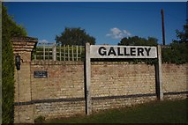 TF2056 : Gallery sign by Bob Harvey