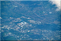 SK5802 : Leicester from the air by Mike Pennington