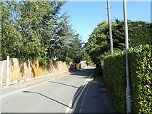 TL7205 : Entrance of Great Baddow Recreation Ground by Adrian Cable