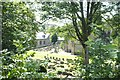 SE1206 : The churchyard at St David's by Bob Harvey