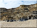 TG2639 : Cliff erosion at Sidestrand by Mat Fascione
