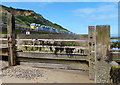 TG2540 : Groyne on Overstrand beach by Mat Fascione
