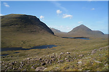NG9360 : Beside the path to Coire  Mhic Fhearchair by Julian Paren