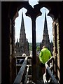 SK1109 : A tour of the tower of Lichfield Cathedral by Philip Halling