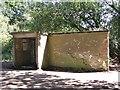 TG1521 : RAF Swannington - latrine by Evelyn Simak