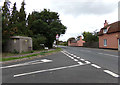 TL9226 : Entering Aldham on A1124 Fordstreet Hill by Adrian Cable