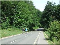 SK1789 : Road above Ladybower Reservoir near Fairholmes by JThomas