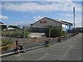 SM9415 : Former garage, Haverfordwest by Hugh Venables