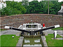 SP6989 : Canal bridge at Foxton Locks in Leicestershire by Roger  Kidd