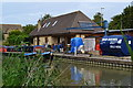 ST8660 : Boat services at Hilperton Wharf by David Martin
