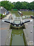 SP6989 : Grand Union Canal at Foxton Junction in Leicestershire by Roger  Kidd