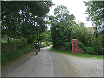 SK1789 : Telephone box, Jubilee Cottages by JThomas
