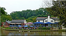 SP6989 : The Foxton Locks Inn in Leicestershire by Roger  Kidd