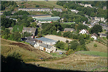 SE0511 : Crowther Laithe Farm from Hard Hill by Ian S