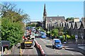 NT2373 : Road works on West Coates, Edinburgh by Jim Barton