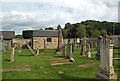 NJ0556 : Rafford Graveyard by Mary and Angus Hogg