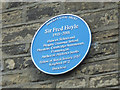 SE1238 : Plaque to Fred Hoyle on his birthplace by Stephen Craven