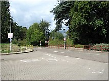 TG2407 : Road on the Carrow Works site by Evelyn Simak