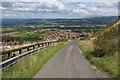 SD7729 : Access Lane descending towards Huncoat by Chris Heaton