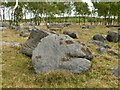 SK2773 : Stone on Gardom's Edge by Graham Hogg