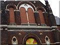 SE2733 : Former Southfield Methodist Chapel - detail by Stephen Craven