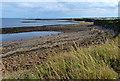 NZ3475 : North Sea coastline at Hartley by Mat Fascione