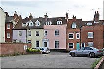 TM2532 : Houses on West Street, Harwich by Robin Webster