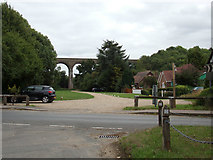 TL8928 : Chappel Viaduct by Adrian Cable
