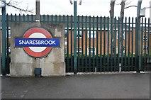 TQ4088 : Snaresbrook Underground Station by N Chadwick