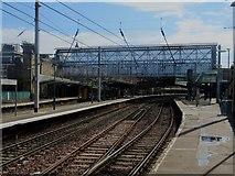 NY4055 : Carlisle railway station, north end by David Robinson