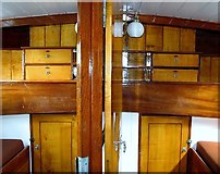 TG3619 : The Pleasure Wherry 'Hathor' - double fore cabins by Evelyn Simak