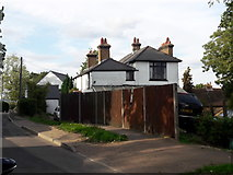 TQ1686 : House on Elms Lane, Sudbury by Chris Brown