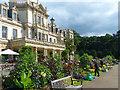 ST0972 : Flower border by Dyffryn House by Robin Drayton
