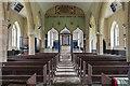 TF2274 : Interior, St Swithin's church, Baumber by Julian P Guffogg