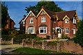 SU2730 : Sunlit houses at West Tytherley : Week 37