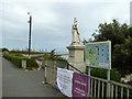 TM2531 : Statue of Queen Victoria, Dovercourt by Robin Webster