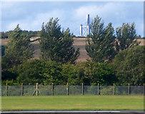 NT1474 : Forth bridges from Edinburgh Airport by Thomas Nugent