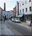 SX4854 : Towards Plymouth Gin Distillery, Southside Street, Barbican, Plymouth by Jaggery