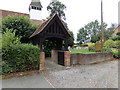 TL8828 : Lych Gate of All Saints Church by Adrian Cable